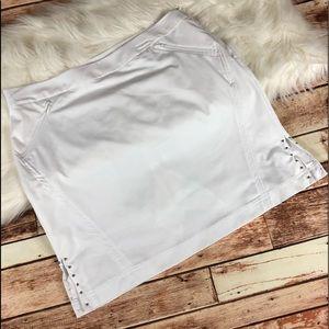 NEW Callaway Golf Tennis Skort Skirt White Size 12
